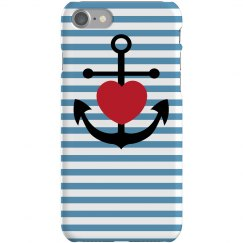 Anchor Heart iPhone 5