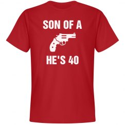 Son of a gun he's 40