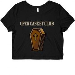 Open Casket Club Crop