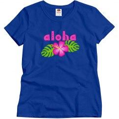 Aloha Hibiscus Floral