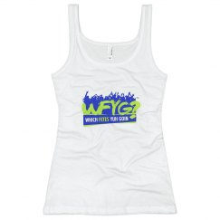WFYG Logo Female Fitted Tank