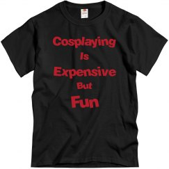 Cosplaying is Expensive But Fun-Black
