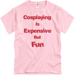 Cosplaying is Expensive But Fun-White