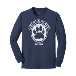 KIDS: Hollow Paw Long Sleeve White (more colors)