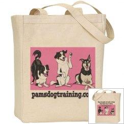 Pam's Dog Academy Tote Bag