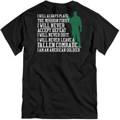 I am an American soldier