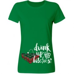 beer pong drink up party shirt