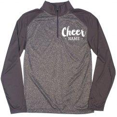 Custom Cheer Girl Pullover