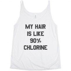 My Hair Is 90% Chlorine