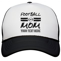 Football Mom Custom Hat