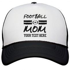 Football Mom Custom Hat