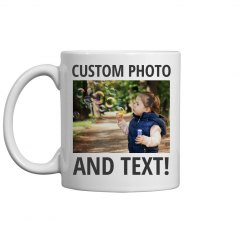 Custom Photo Mug Mothers Day