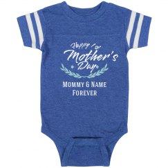 Baby's 1st Vintage Mother's Day Onesie