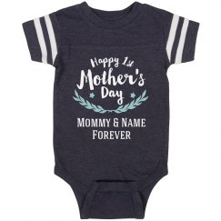 Baby's 1st Vintage Mother's Day Onesie