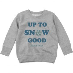 Up To Snow Good Toddler Sweater