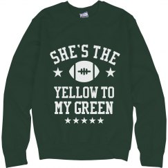 Yellow To My Green Sweater