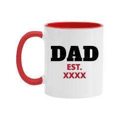Custom Dad Color Mug