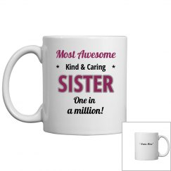 Most awesome sister