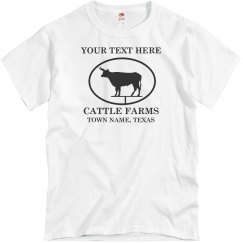 Texas Cattle Farm