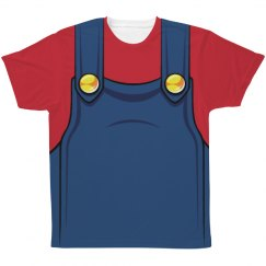 Red Plumber Costume