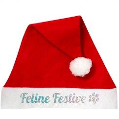 Feline Festive Santa Accessory