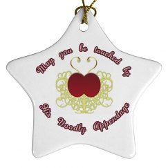 Be Touched ornament - 5pt star