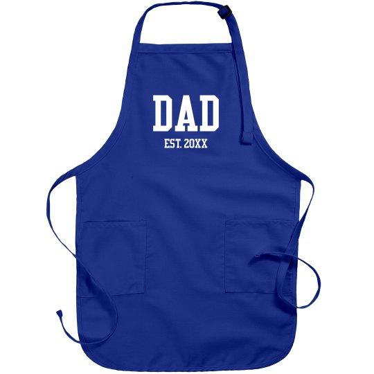 Dad Established Custom Year Gift