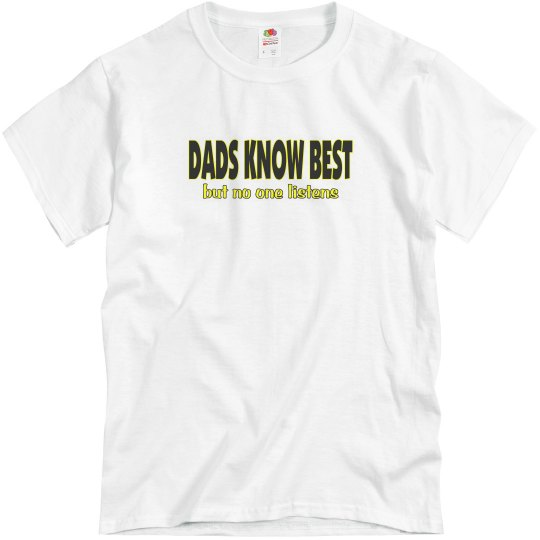 Dad saying on shirts