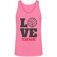 Custom Volleyball Love
