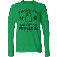 St Patricks Day Gratitude Girl