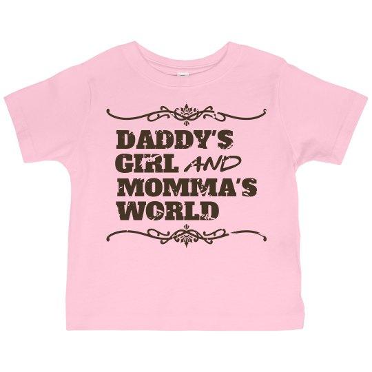 Idea daddys girl mommas world for