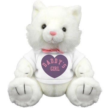Daddy's Girl Plush Bear