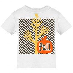 Fall kids tshirt