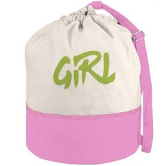 Girl Beach Bag