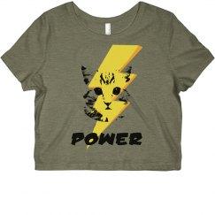 PPower Crop Top