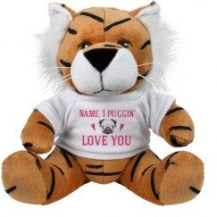 8 Inch Tiger Stuffed Animal