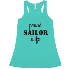 I'm A Proud Sailor Wife