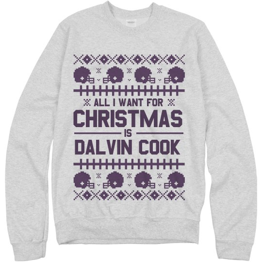 Dalvin Cook Ugly Christmas Sweater