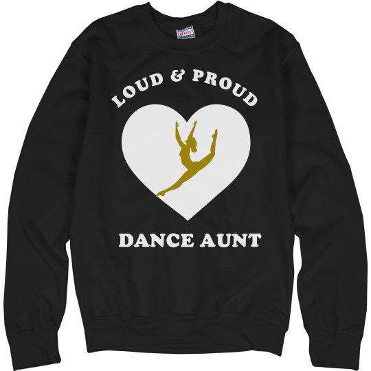 Dance Aunt sweatshirt