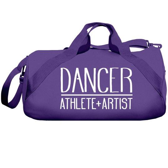 Dance Bag With Custom Name On Back
