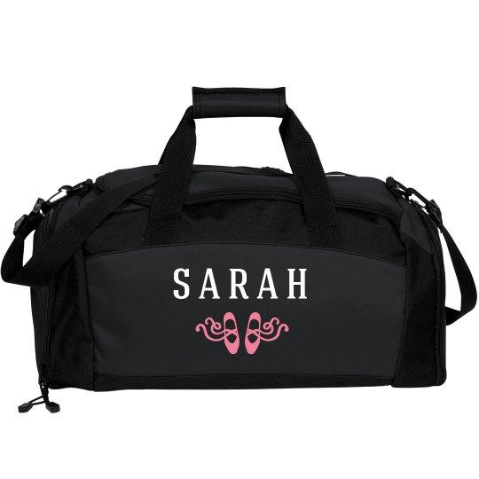 Dance Bag With Custom Name