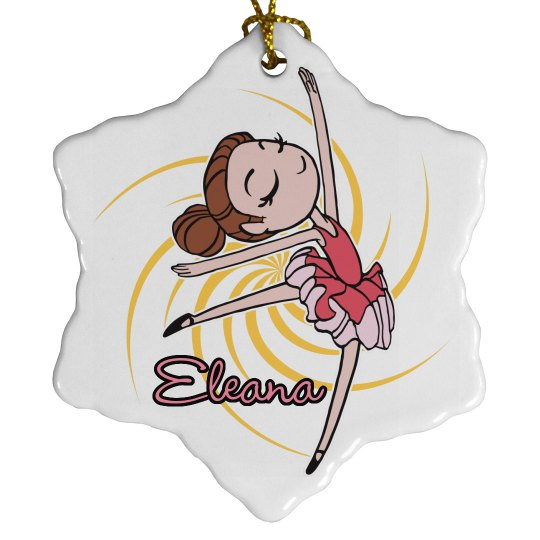Dance Christmas Ornaments