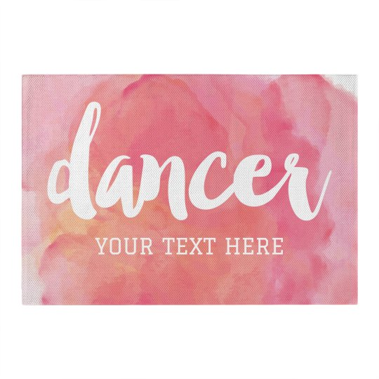 Dance Girl Custom Room Decor