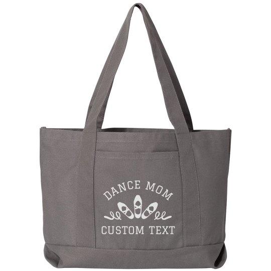 Dance Mom Pointe Shoe Tote Bag