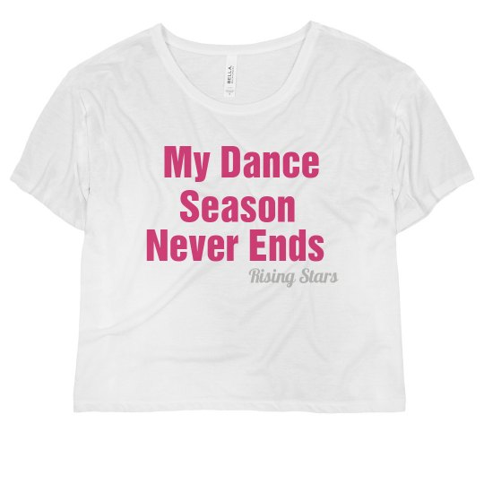 Dance season never ends