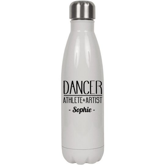 Dancer Athlete Artist Custom Name