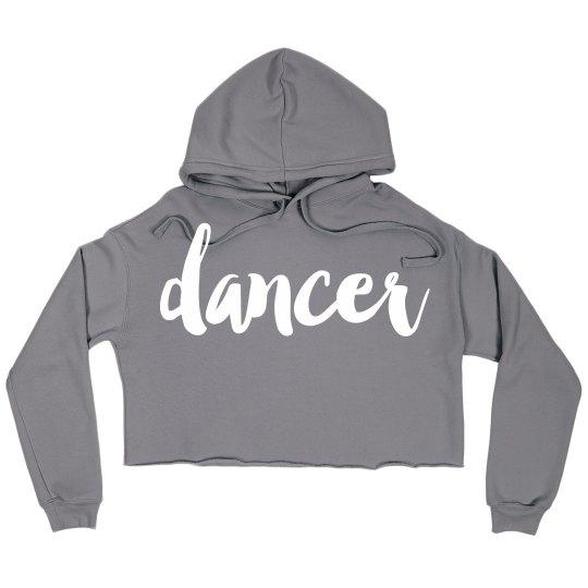 Dancer Custom Crop Sweatshirt