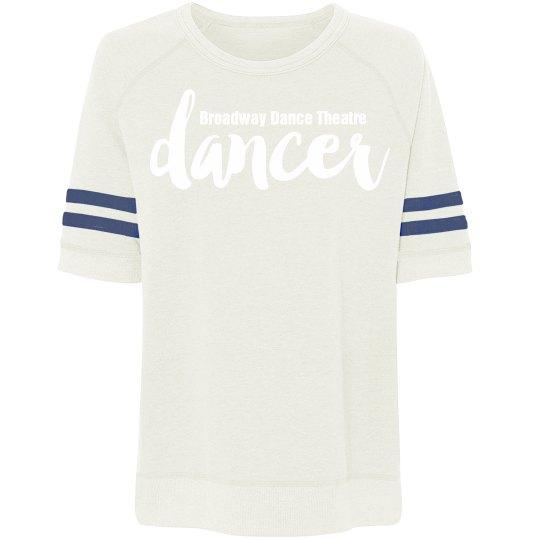 Dancer Short Sleeve Vintage Sweat