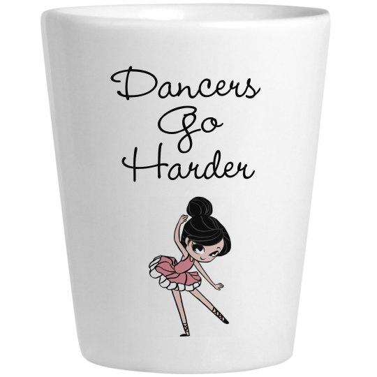 Dancer Shot Glass