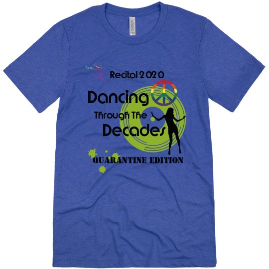 Dancing Through The Decades UNISEX Triblend Soft T